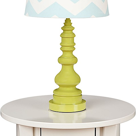 Lolli Living™ by Living Textiles Baby Lamp Base in Green Spindle