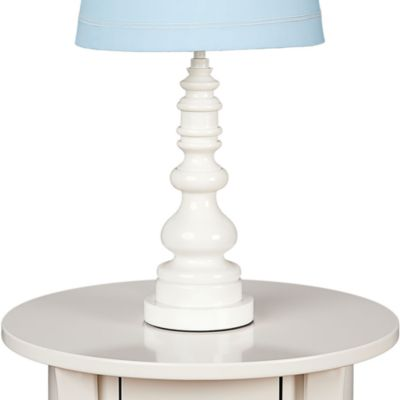 Lolli Living™ by Living Textiles Baby Lamp Base in White Spindle