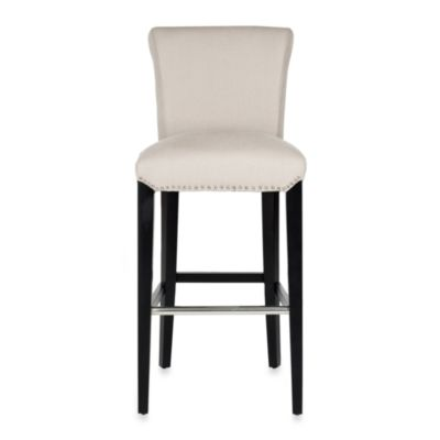 Safavieh Seth Bar Stool in Beige