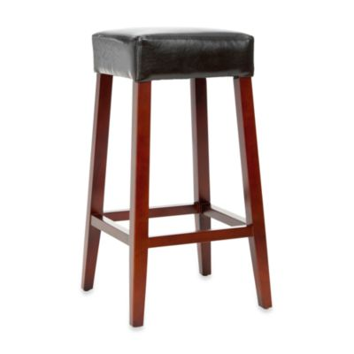 Safavieh Benson Leather Bar Stool