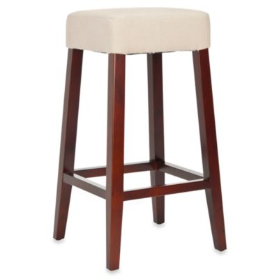 Safavieh Benson Fabric Bar Stool