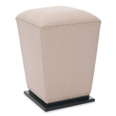Safavieh Mason Ottoman in Beige (Set of 2)