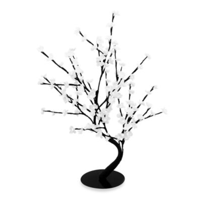 30-Inch Lighted Bonsai Tree with 128 White LED Lights