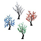 48-Inch Indoor/Outdoor Trees Pre-Lit with 288 LED Lights