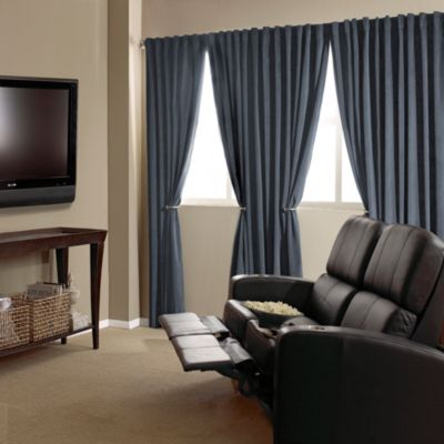 Blue Home Decor Curtains