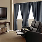 Velvet Blackout Home Theater Curtain Panels