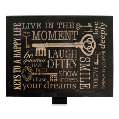 New View™ Ribbon Of Memories Keys To A Happy Life Photo Album