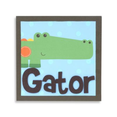 Munch™ Alligator Canvas