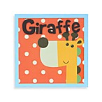 Munch™ Giraffe Canvas