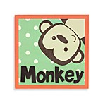 Munch™ Monkey Canvas