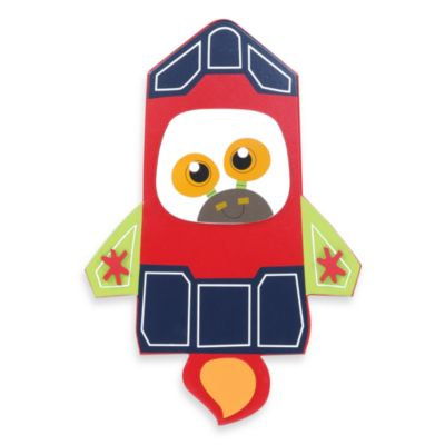 Munch™ Rocket Ship Wall Decor