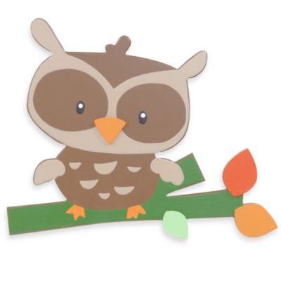 Owl Baby Wall Decor