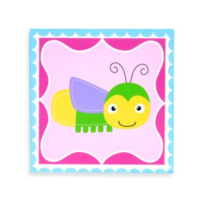 Munch™ Lightning Bug Canvas