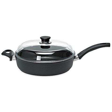 Ballarini Rialto 3-Quart Saute Pan with Lid and Helper Handle