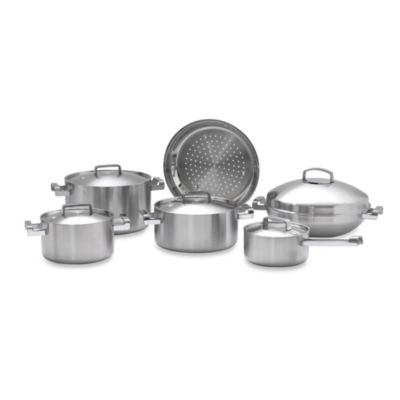 BergHOFF® Neo 5-Ply Stainless Steel 11-Piece Cookware Set