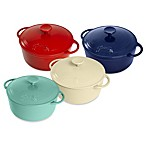 Fiesta® 3.5-Quart Cast Iron Covered Dutch Oven