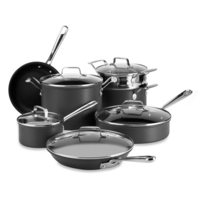 Emerilware 12-Piece Hard Anodized Nonstick Cookware Set