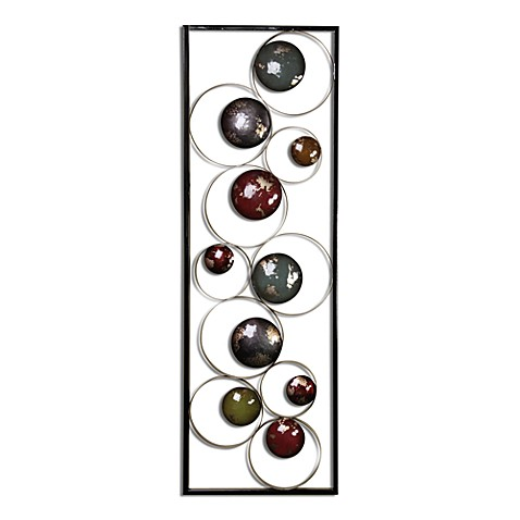 Metal Circle Panel B Wall Art