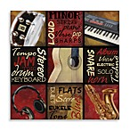 Jam Session II 32-Inch x 32-Inch x 1.15-Inch Printed Canvas