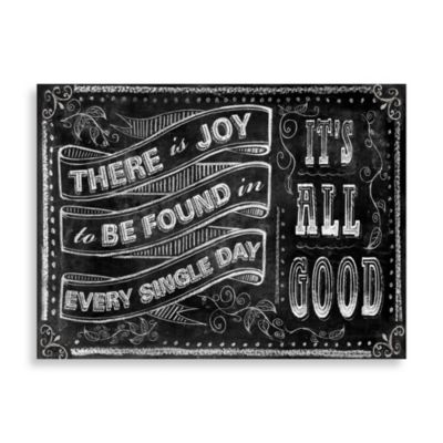 """It's All Good"" Wall Art"