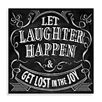 Let Laughter Happen Wall Art