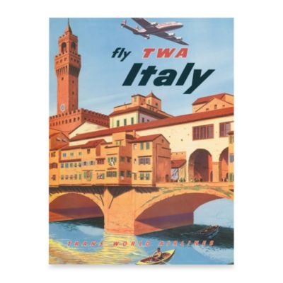 Fly Italy Wall Art