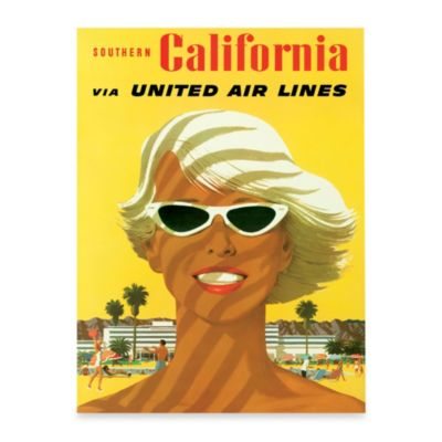 Fly California Wall Art