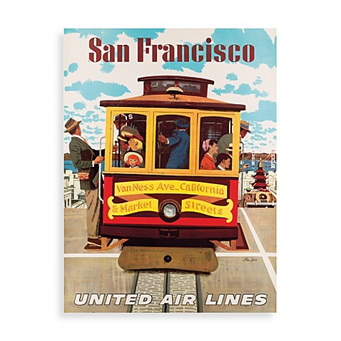 Fly san francisco wall art bed bath beyond for Buy art san francisco
