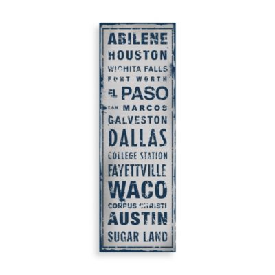 Texas Places Wall Art
