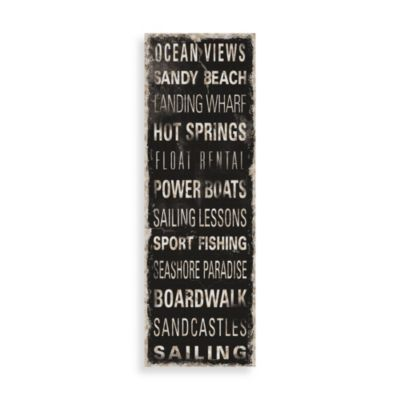 Ocean Signs Wall Art