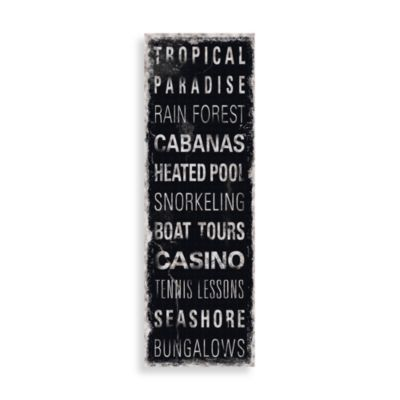 Tropical Paradise Wall Art