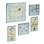Coastal 5-Piece Wall Art Set