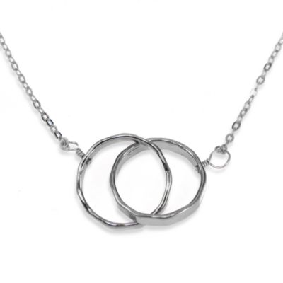 Charlene K Interlocking Circles Pendant - Sterling Silver