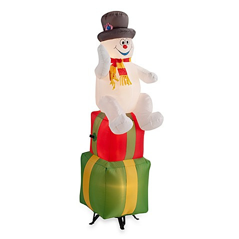 Inflatable Outdoor 6-Foot Frosty On Ornament