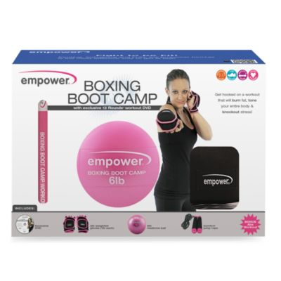 Boxing Boot Camp Workout Kit with 12 Rounds DVD