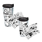 Tervis® Black & White Passport Wrap Tumblers with Black Lid