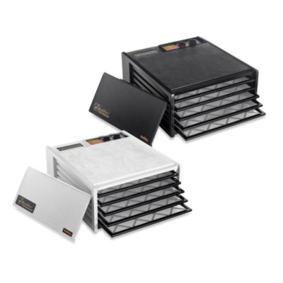 Excalibur® 5-Tray Dehydrator with Timer in White