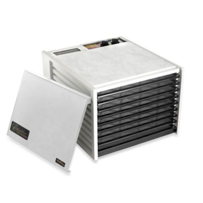 Excalibur® 9-Tray Dehydrator with Timer in White