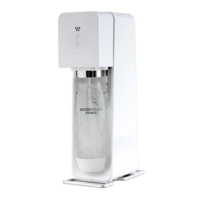 SodaStream® SOURCE™ Sparkling Beverage Maker Starter Kit in White