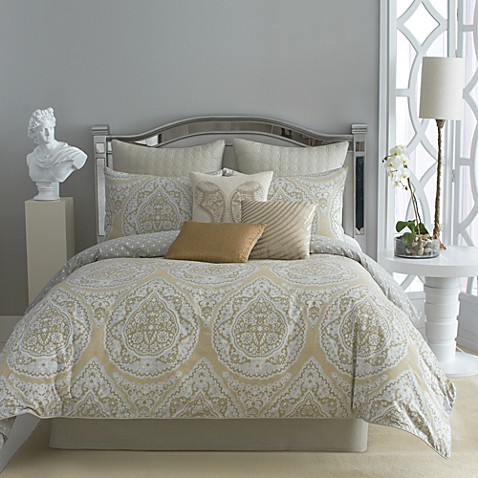 Taj 4-Piece Comforter Set, 100% Cotton