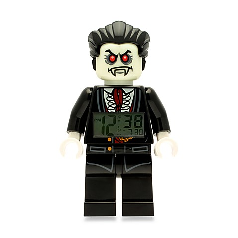 LEGO® Monster Fighters Lord Vampyre Minifigure Alarm Clock
