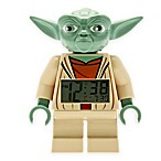 LEGO® Star Wars™ Yoda Minifigure Alarm Clock