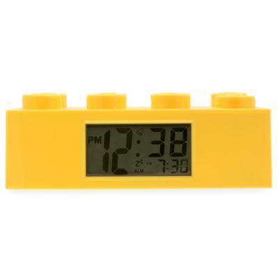 LEGO® Yellow Brick Alarm Clock