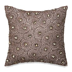 Corinne Beaded Square Toss Pillow