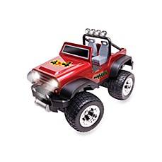 Off-Road Safari Radio Controlled Vehicle in Red Stickers