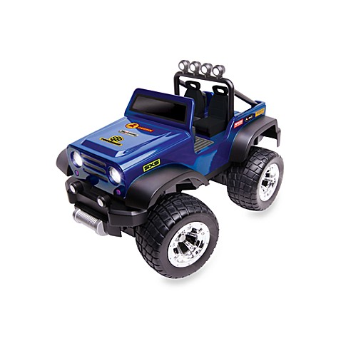 Remote Control Off-Road Safari Vehicle - Blue Stickers