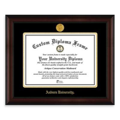 Auburn University 22K Gold-Plated Medallion Diploma Frame