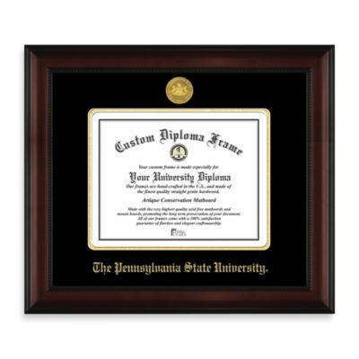 Penn State 22K Gold-Plated Medallion Diploma Frame