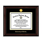 University of Florida 22K Gold-Plated Medallion Diploma Frame
