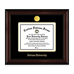 Indiana University 22K Gold-Plated Medallion Diploma Frame